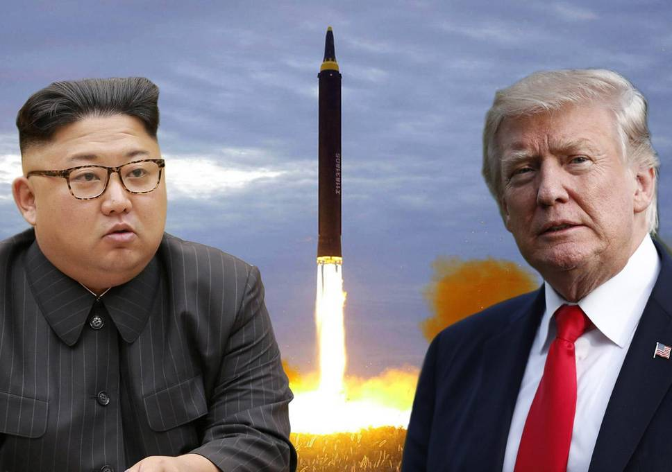 Historic Photo of First Official Trump-Kim Meeting