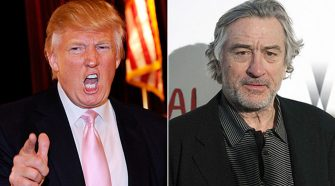 Robert De Niro Bans Trump From His Restaurants