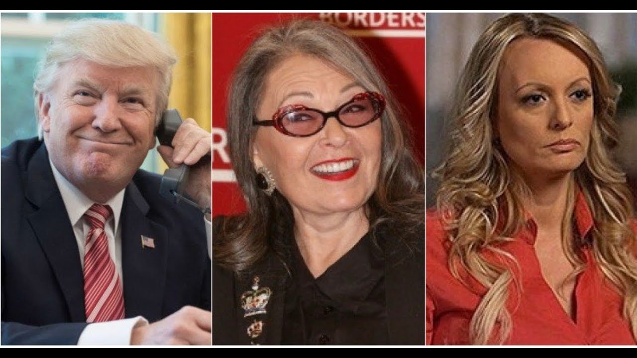 Roseanne Barr and Stormy Daniels Lock Horns on Twitter