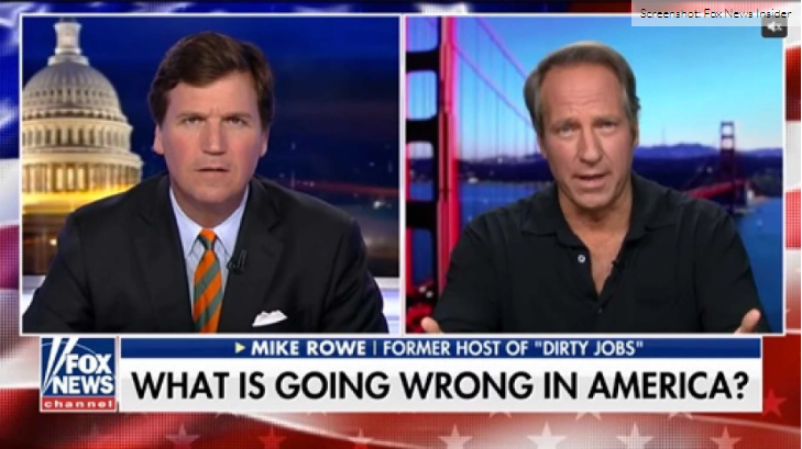 Mike Rowe Explodes