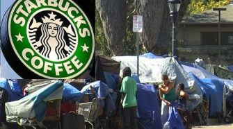 Starbucks Employees Fearful New Rules Will Turn Their Shops Into Homeless Shelters