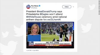 Fox News Uses Picture of Eagles Praying as Propaganda, Falsely Accuses Them of Protesting the Anthem