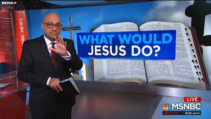 MSNBC Attacks Trump Administration With Bible Verses