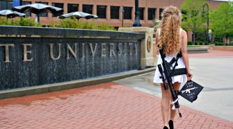 Kent State Grad Carried an AR on Campus