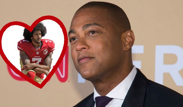 Don Lemon Blasts Standing For Anthem at NFL Games: 'Fake Patriotism'