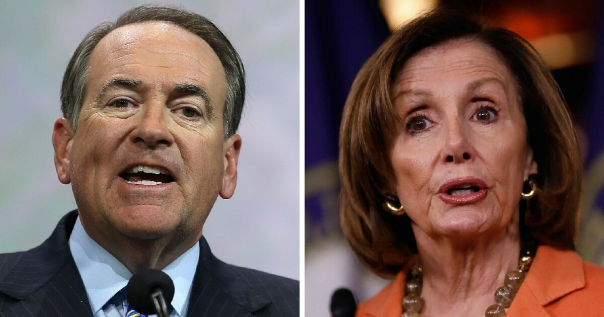 Mike Huckabee Fires Back at Pelosi with MS-13 Tweet, Internet Loses Its Mind