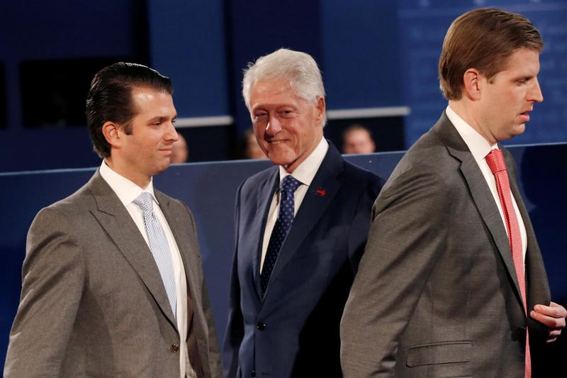 Trump Jr. Blasts Slick Willie On Twitter