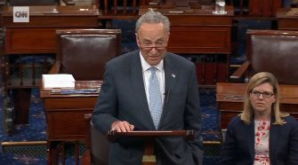 Chuck Schumer Attacks Maxine Waters Encouraging the Left to Harass Members of the Trump Administration