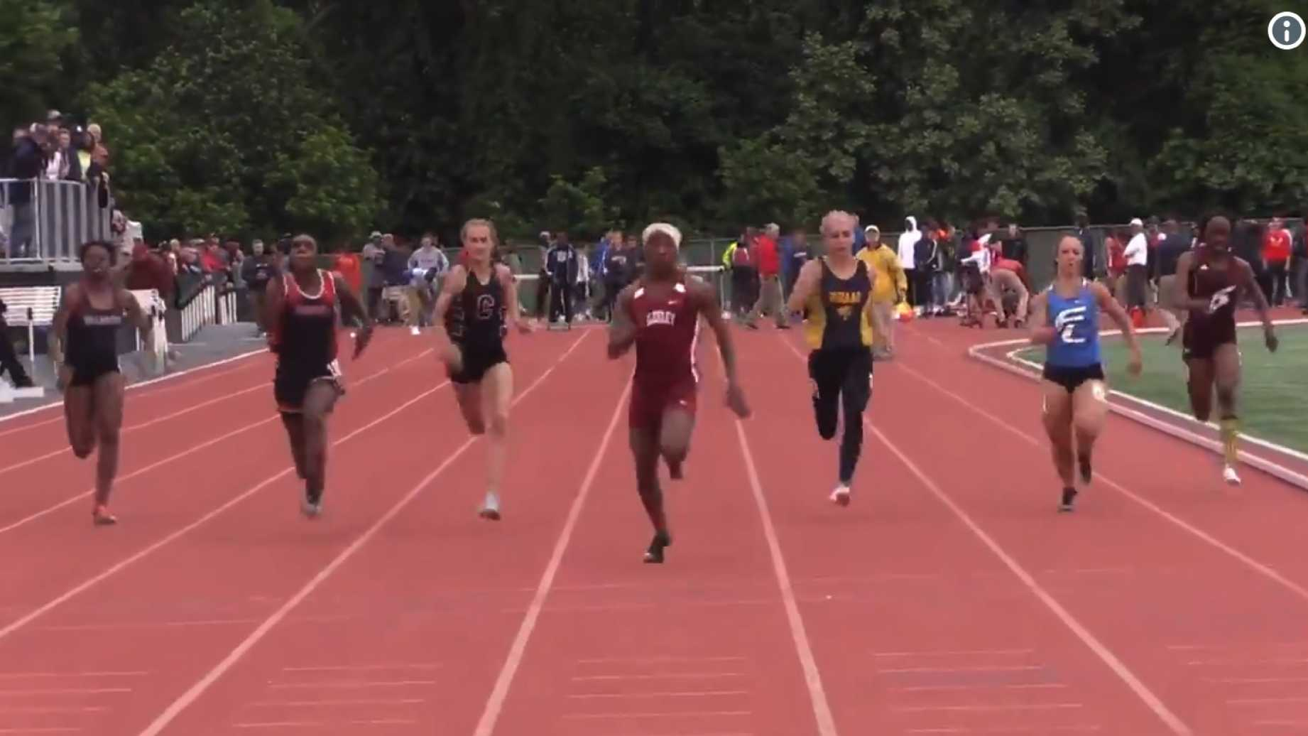 Transgenders Smoke Girls in State Track Meet