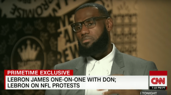 LeBron James Accuses Trump of Dividing the Nation With Sports