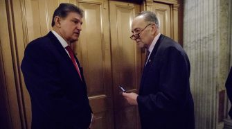 WV Senator Joe Manchin Takes on Schumer