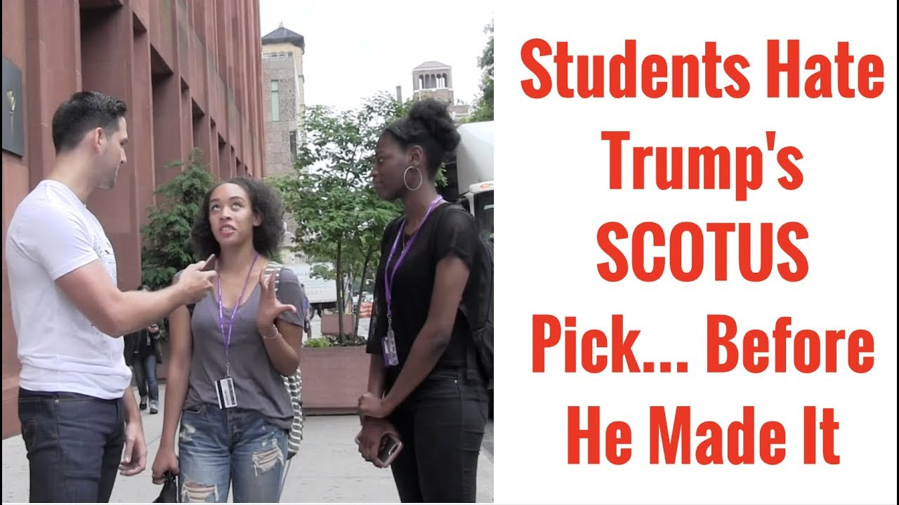 College Students Are Livid About Trump's Supreme Court Choice, Even Though He Hasn't Made It Yet