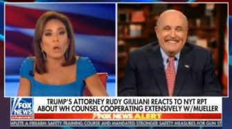 Rudy Giuliani: 'Mueller Team Is Panicking. They Know They Don't Have A Case'