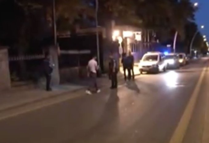 U.S. Embassy In Turkey Attacked By Drive-By Shooting