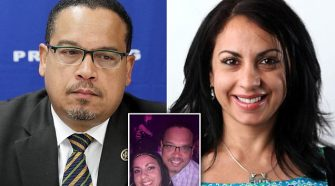 Keith Ellison's Ex-Girlfriend