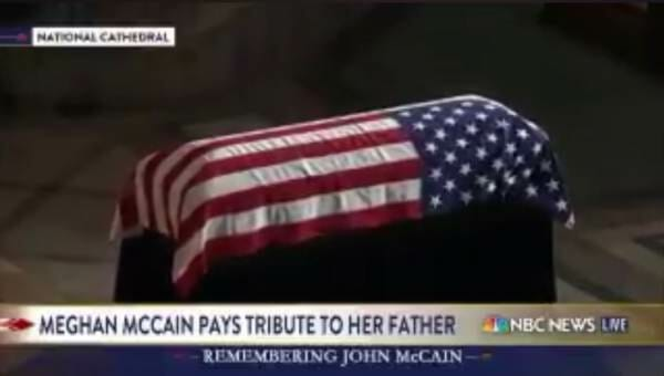 Trump Approved Air Force 2 To Transport McCain Casket
