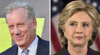 James Woods, Hillary Clinton