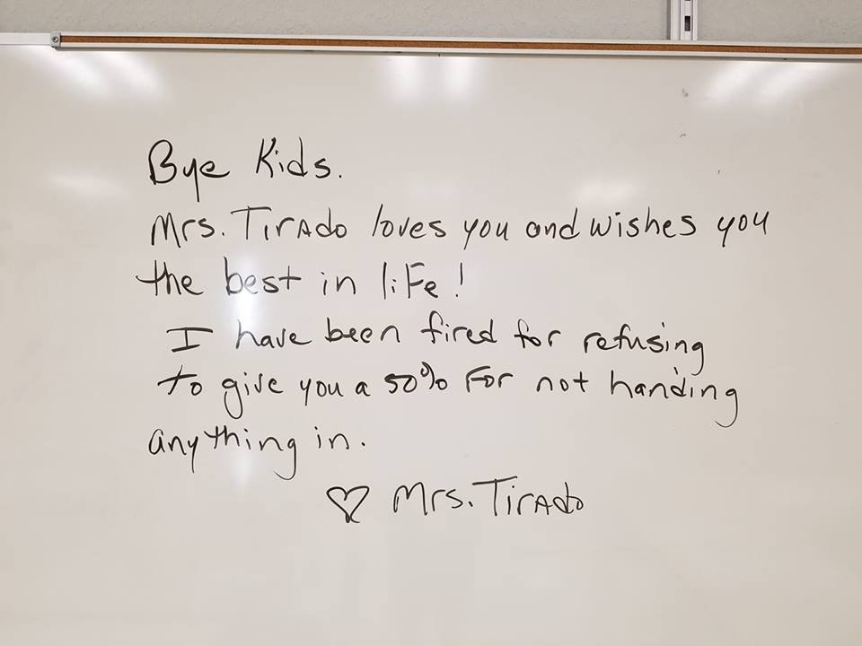 Florida Teacher Fired Refusing to Give Students Credit, Diane Torado