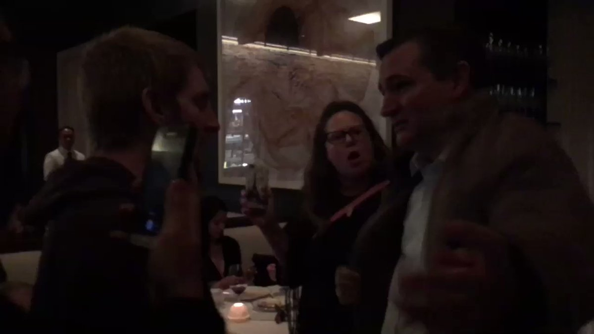 Ted Cruz Chased From DC Restaurant by Kavanaugh Protesters