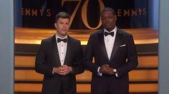 Emmy's Host Rips Christians
