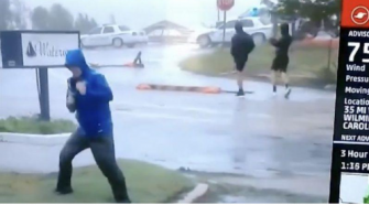 Weather Channel Meteorologist Called Out For Exaggerating Florence