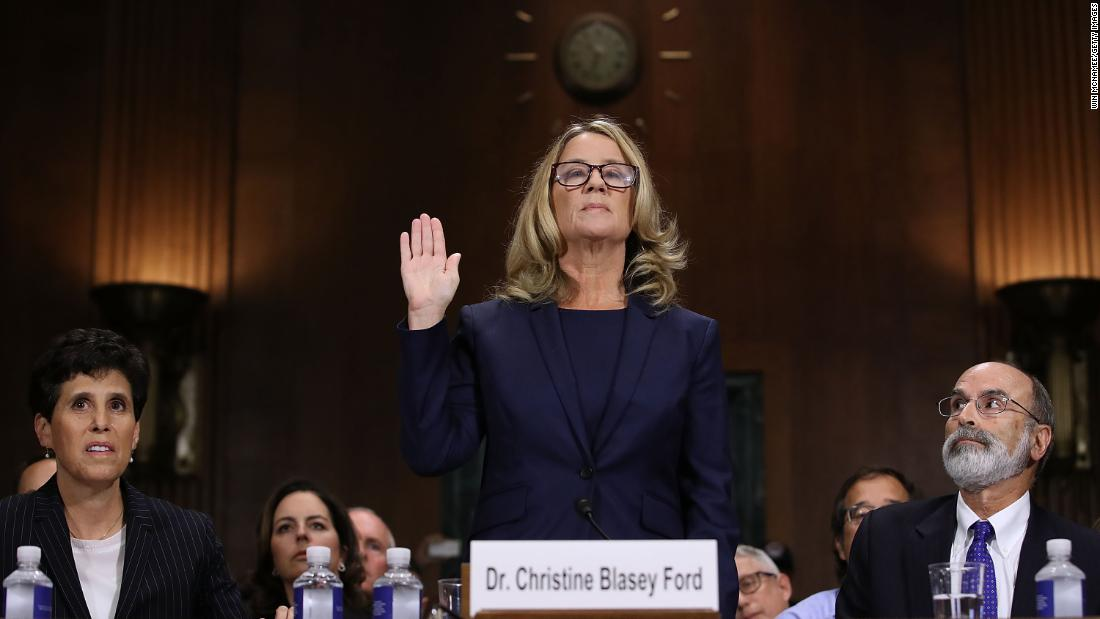 Brett Kavanaugh accuser Christine Blasey Ford
