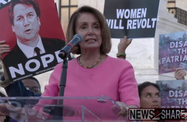 Unhinged Democrat Leader Nancy Pelosi