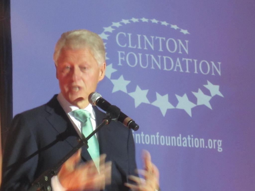 Clinton Foundation Donations Dropped by $36 Million This Year