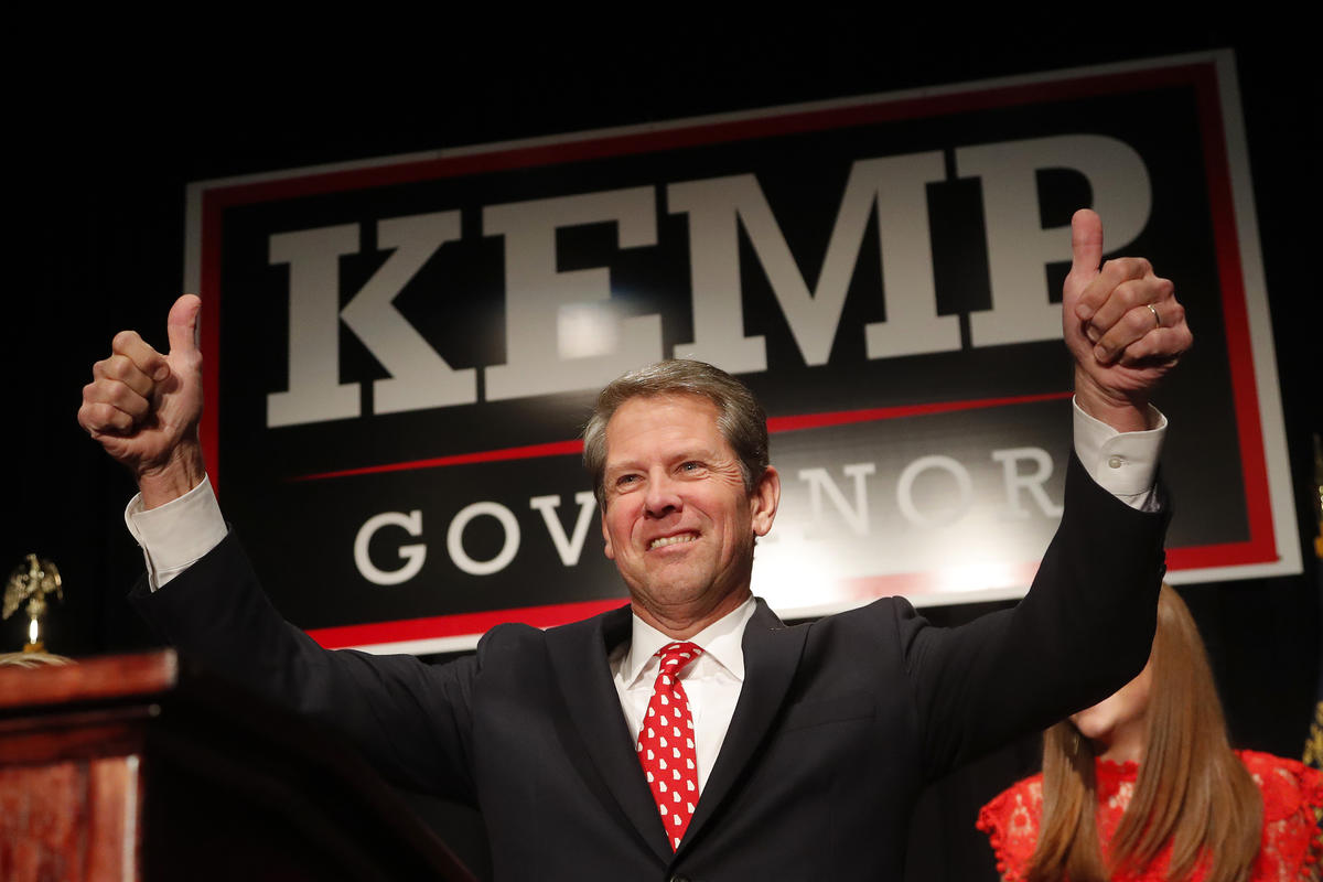 Brian Kemp Resigns as Secretary of State in Georgia