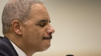 Eric Holder Freaks Out