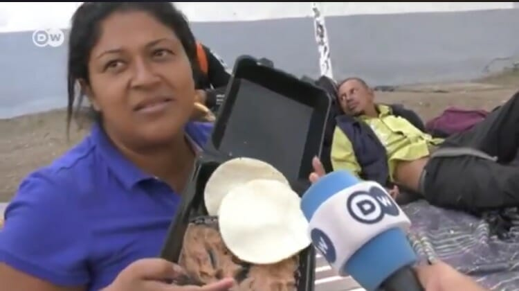 Honduran Migrant Complains About Free Meals Mexico Provided