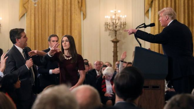 Judge Orders White House to Reinstate Press Credentials of Jim Acosta
