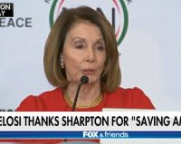 WATCH: Nancy Pelosi Thanks Al Sharpton for 'Saving America'