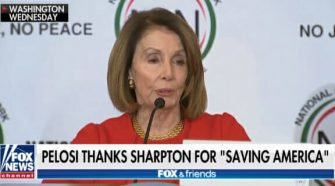 Nancy Pelosi Thanks Al Sharpton for 'Saving America'
