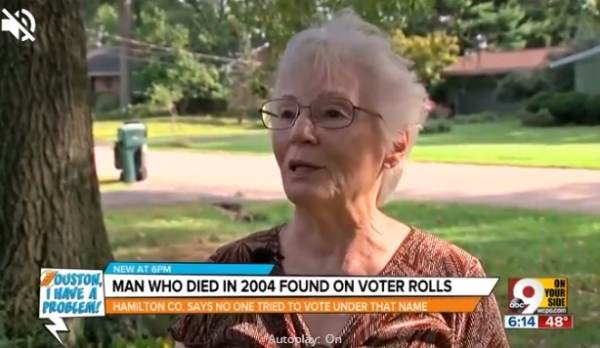 Ohio Poll Worker Finds Her Dead Neighbor On Active Voter List