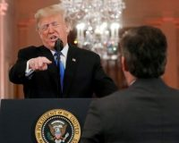 WATCH: President Trump Responds to Acosta Court Ruling: 'If He Misbehaves, We'll Throw Him Out'