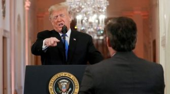 President Trump Responds to Acosta Court Ruling: 'If He Misbehaves, We'll Throw Him Out'