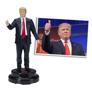 trump talking figurine