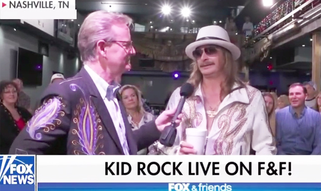 Nashville Christmas Parade Replaces Kid Rock