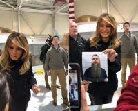 Veteran Unable to Attend Event With First Lady Melania – She Still Took a Photo With Him