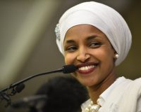 Rep. Ilhan Omar Warns President Trump: 'Tread Lightly, Mr. President' About 'New Allegations'