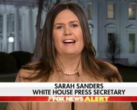 WATCH: Sarah Sanders Responds to AOC's Climate Change Remarks