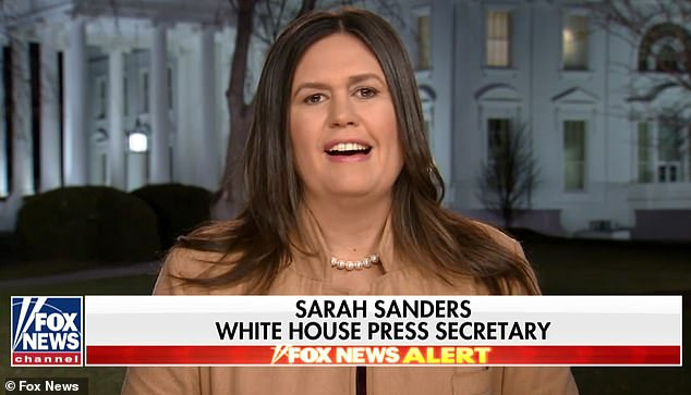Sarah Sanders Responds to AOC's Climate Change Remarks