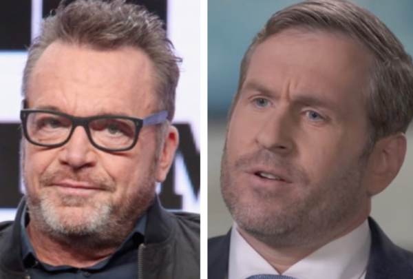 Unhinged Leftist Tom Arnold