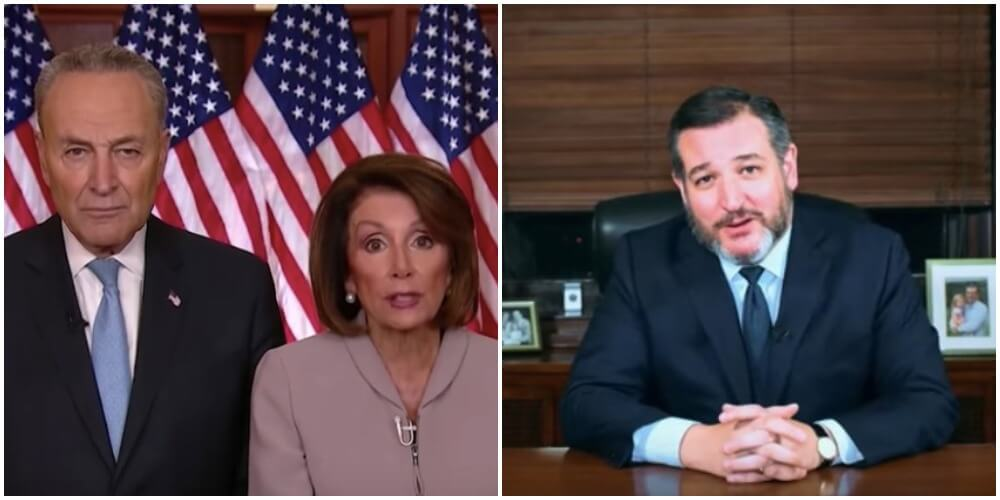 ted cruz hilarious response to pelosi and schumer