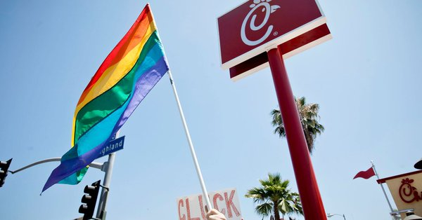 Chick-fil-A Banned from San Antonio Airport, anti-lgbtq