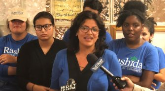 Rep. Rashida Tlaib anti-semite instagram account