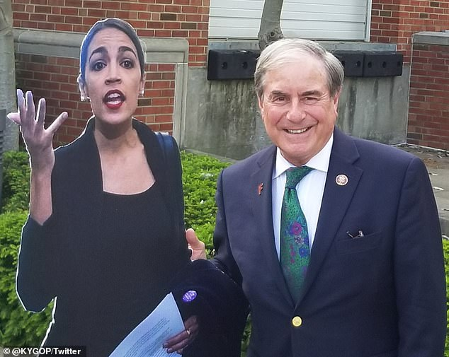 Alexandria Ocasio-Cortez Mocks 'Older Male GOP'