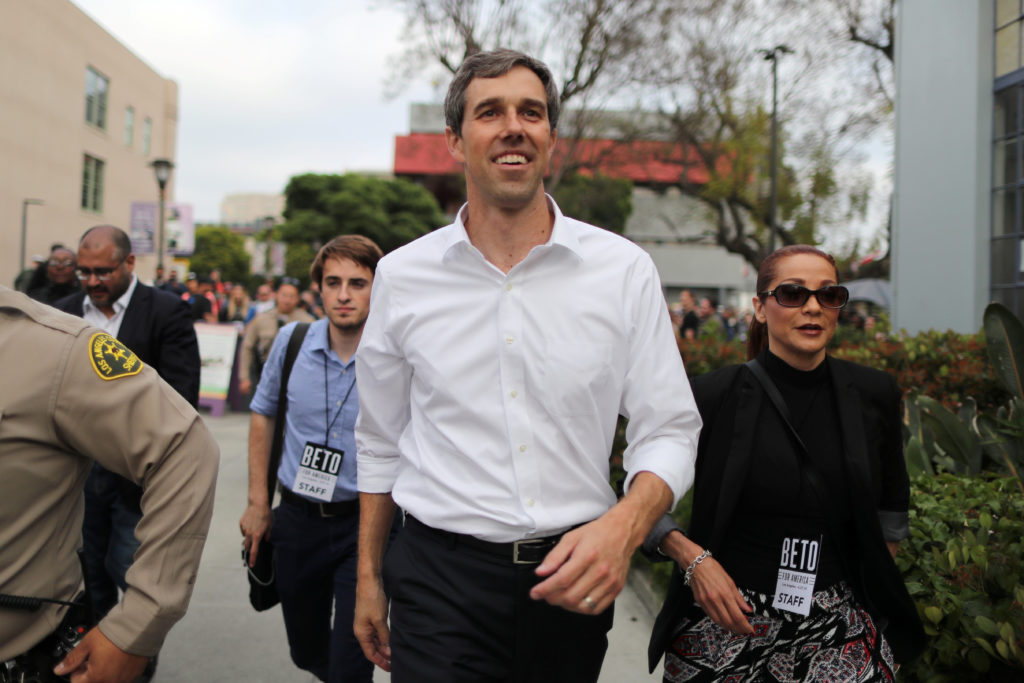 Beto O'Rourke We Only Have '10 Years' Left
