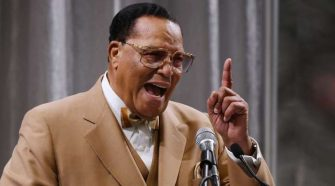 Islamic Leader Louis Farrakhan